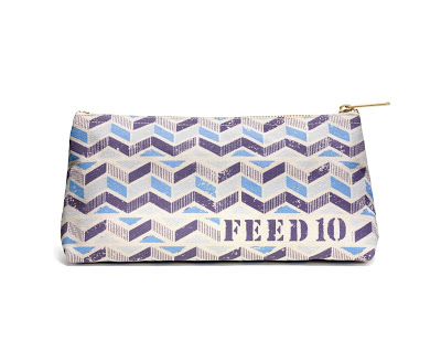 Blue FEED Pouch